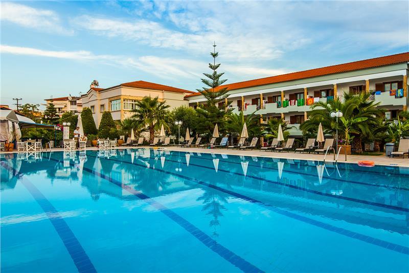 TRESOR SOUSOURAS HOTEL (EX HANIOTI PALACE) - HANIOTI, KASANDRA, HALKIDIKI, GRCKA