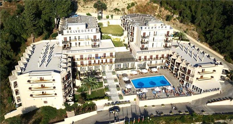 BELVEDERE HOTEL - AG. IOANNIS / BENITSES - KRF
