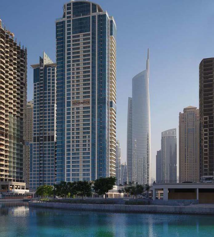 MOVENPICK JUMEIRAH LAKES TOWERS - JUMEIRAH LAKE TOWERS