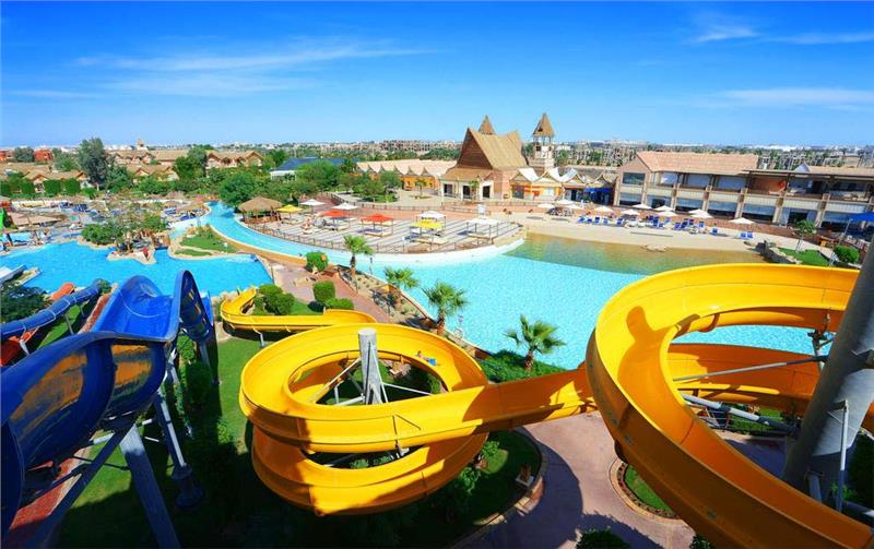 JUNGLE AQUA PARK RESORT - HURGHADA
