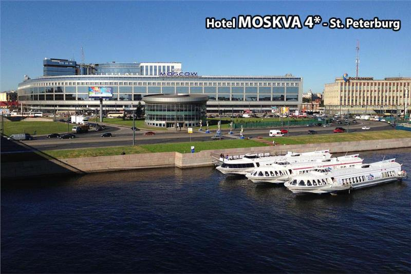 MOSKVA 4* - SANKT PETERBURG / HOTEL DELTA 4* - MOSKVA